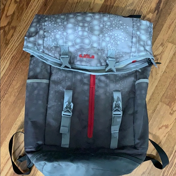 nike usa shield backpack, Nike lebron 10 mid top black grey